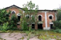 Domaine de comtes Logement de compte dans Polessky, Ukraine images libres de droits