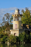 Domaine de Marie Antoinette στο πάρκο του παλατιού των Βερσαλλιών Στοκ Φωτογραφίες