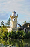Domaine de Marie Antoinette in the park of Versailles Palace Royalty Free Stock Photography
