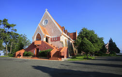 Domaine de Marie church Royalty Free Stock Images