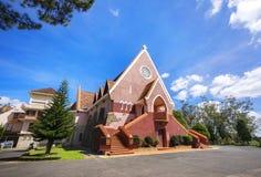 Domaine de marie church in Da Lat City, Vietnam. Stock Photo