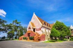 Domaine de marie church in Da Lat City, Vietnam. Stock Images