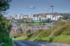 Domaine résidentiel de Whitehawk, Brighton Images libres de droits
