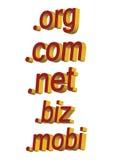 Domaines - vecteur Image libre de droits