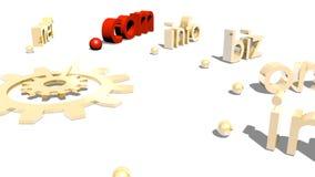 Domains Royalty Free Stock Image