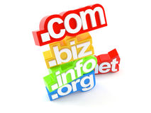 Domains name Stock Photography
