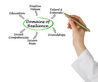 Domains of resilience Stock Image