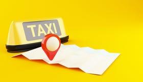 domanda 3d di taxi online royalty illustrazione gratis