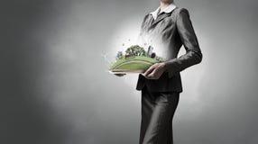 Domanda dell'ambiente e della vita moderna Immagini Stock Libere da Diritti