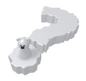 Domanda dell'orso polare Immagine Stock Libera da Diritti