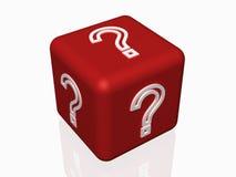 Domanda di concetto del FAQ Fotografia Stock Libera da Diritti