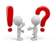 Domanda - la risposta royalty illustrazione gratis