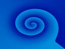 Domanda a spirale Fotografia Stock