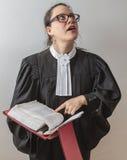 Domandandosi circa la legge Fotografie Stock Libere da Diritti