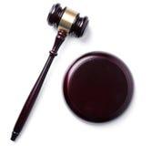 Domare Hammer Arkivbild