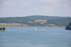 Domasa jezioro Obrazy Royalty Free