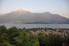 Domaso, lago Como Immagine Stock Libera da Diritti
