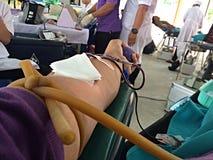 Domation del sangue Fotografie Stock