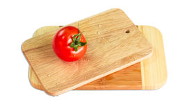 Domato and cutting Board Stock Images