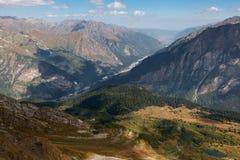 Dombai горы Стоковая Фотография