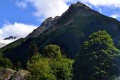dombay βουνά Καύκασου bashi semenov Στοκ Φωτογραφίες