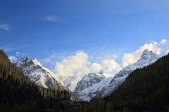 Горы Dombay Стоковая Фотография