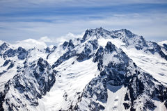 Dombay. Mountain Royalty Free Stock Photo