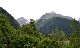 Dombay. The Republic of Karachay-Cherkessia in the North Caucasus, Russia. Photo taken on: July 26 Friday, 2013 Stock Photo