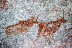 Domboshawa grottor royaltyfria foton