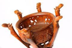 Dombra del instrumento del Kazakh y taikazan nacionales Fotografía de archivo libre de regalías