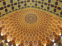 Dome 01. Dome tiled in persian style Royalty Free Stock Image
