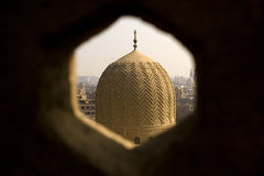 Dome. Bab Zuweila is a medieval gate in Cairo, which is still standing in modern times. It was also known as Bawabbat Al-Mitwali during the Ottoman period, and Stock Photography