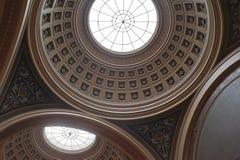 Dome. Of the entrance hall of the Uppsala University Stock Photo
