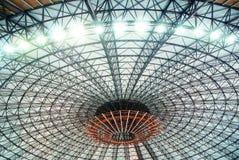 Dome. ARchitectural dome, romexpo, romanian exhibition pavilion Royalty Free Stock Photo