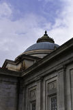 Dome. A dome behind several other roof top feathers and shapes Stock Photography