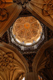 Dome. Interior of the dome of the Cathedral of Salamanca Stock Photo