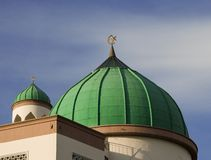Dome. Of a mosque Stock Images
