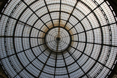 Dome. Close up of glass dome roof stock image