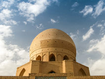 Dome of Agha Bozorg Madrasa and Mosque, Kashan Iran Stock Photos