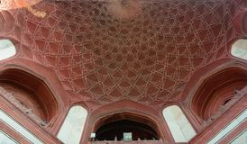 Dome of Agra Fort in India Stock Image