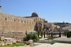 The dome of the Al Aqsa Royalty Free Stock Image