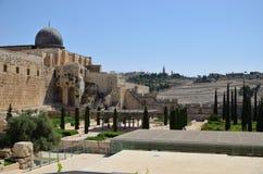 The dome of the Al Aqsa Stock Image