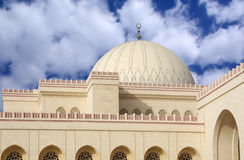 Dome of Al Fateh Mosque Bahrain Royalty Free Stock Images