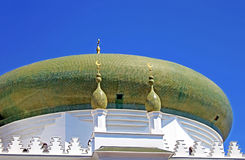 Dome of the Al-Salam Mosque and Arabian Cultural Center, Odesa, Ukraine Stock Image