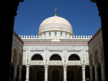 Dome. A dome in Al-Saleh Mosque in Sana'a the capital of Yemen royalty free stock photo