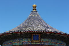 Dome of ancient Chinese building Royalty Free Stock Image