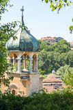 Dome of the ancient church in the town of Lovech in Bulgaria royalty free stock photography