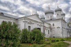 Dome of ancient Russian Orthodox Church Stock Photography