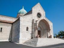 Dome of Ancona. San Ciriaco church, dome of Ancona Royalty Free Stock Photography