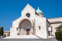 Dome of Ancona. San Ciriaco church, dome of Ancona royalty free stock photos
